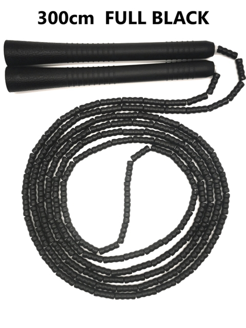 tangle free jump rope The best tangle free jump rope for beginners. Soft PVC material bendable beaded and anti-wear, 300cm length 10ft weight are better for losing weight. - FitnessKim