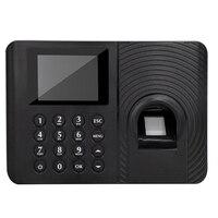 Biometric Attendance System Fingerprint Reader Time Clock Employee Attendance Machine Access Control Commuting Punch Card Machin-in Zeiterfassung aus Computer und Büro bei