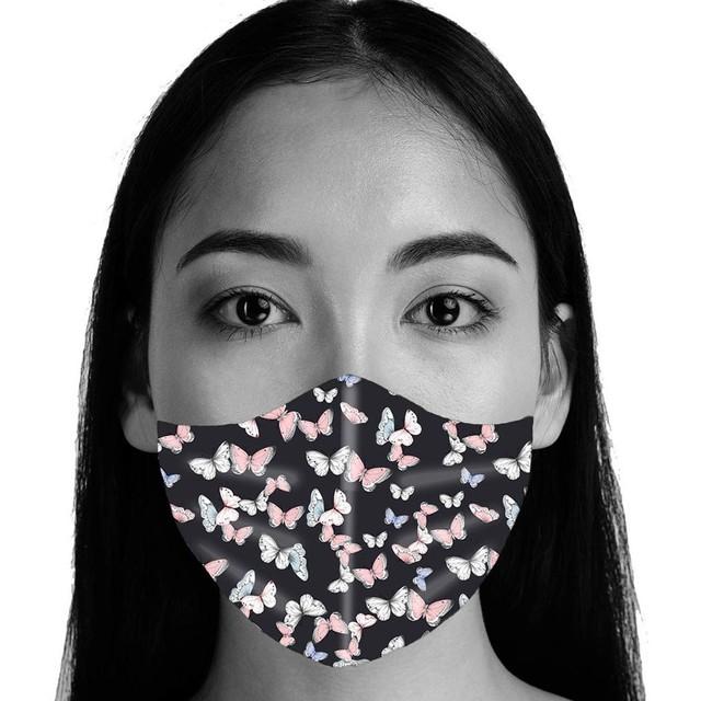 Colorful Fabric Face Turban Stylish Fashionable Neutral Washable Mask