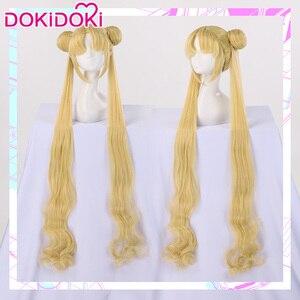 Image 1 - DokiDoki Peluca de Cosplay de Sailor Moon, peluca de Cosplay de Sailor Moon de Tsukino Usagi /Mizuno Ami/Rei Hino/Kino Makoto /Minako Aino Sailor Moon