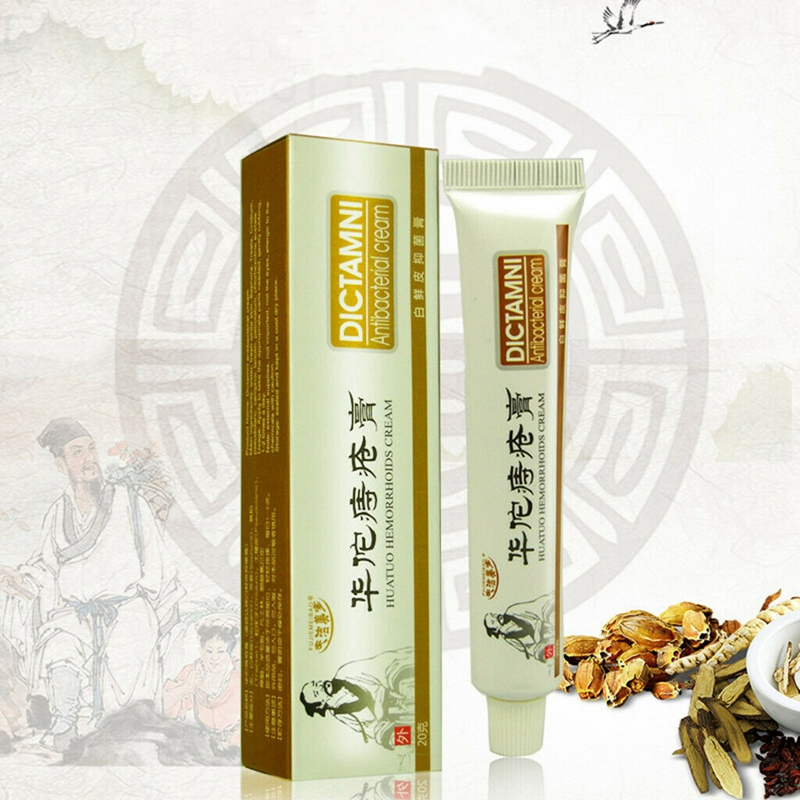 Chinese Herbal Hemorrhoids Cream Ointment Health Care Powerful Internal Piles External Anal Ointment