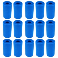 15 Uds accesorios piscina filtro de espuma esponja reutilizable para Intex tipo lavable Biofoam limpio filtro de espuma esponjas