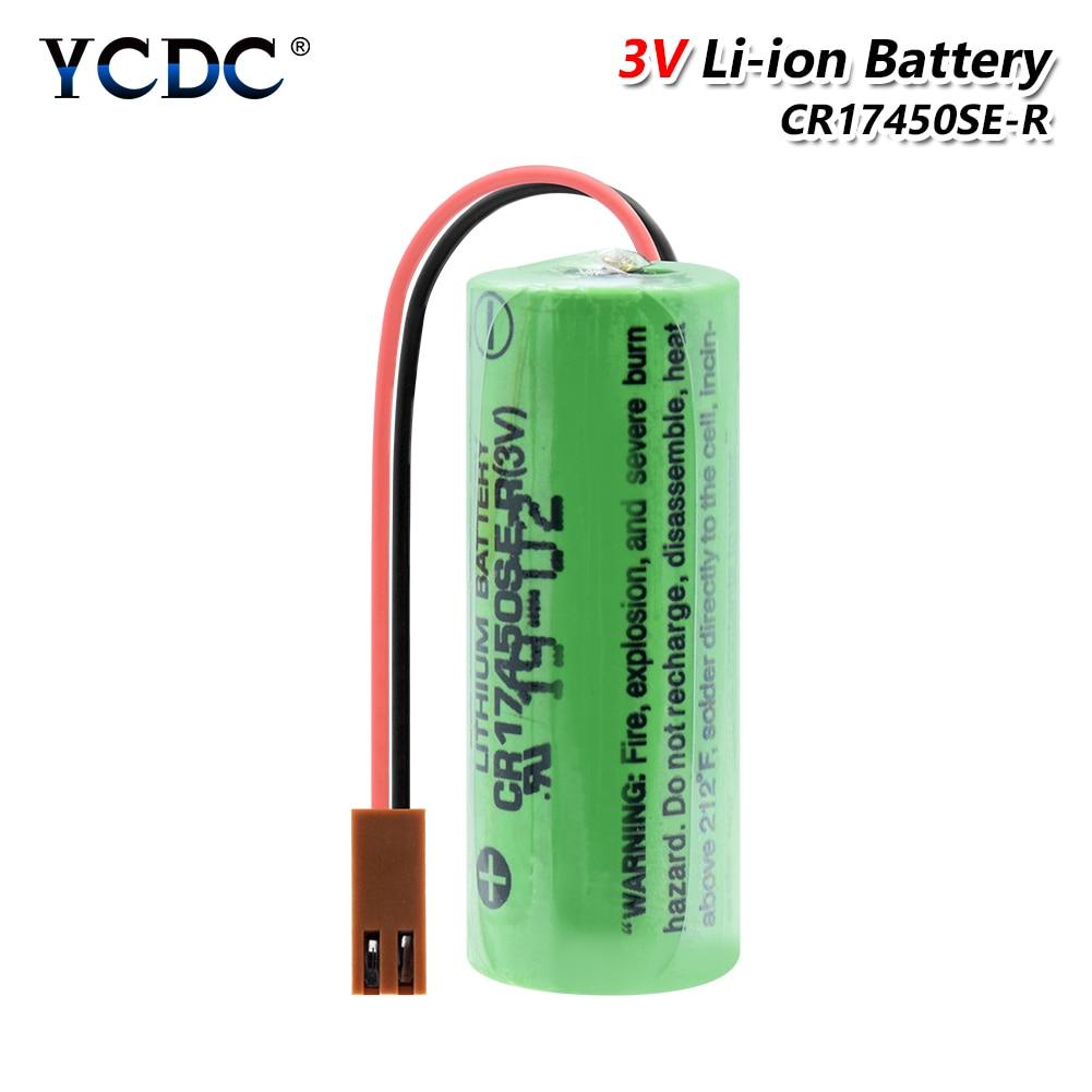 YCDC CR17450SE-R A98L-0031-0012 для Fanuc PLC Замена батареи 3V 2500mAh батареи с резистором