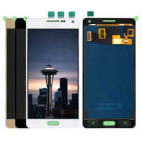 Can adjust brightness LCD A500 For Samsung Galaxy A5 2015 A500 A5000 A500H A500F LCD Display Touch Screen and Digitizer Assembly
