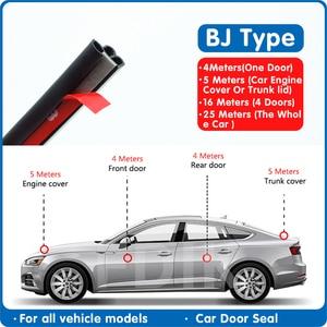 Car sealing strip soundproof d