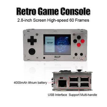 Przenośna Retro konsola do gier 2 8 Cal ekran Raspberry Pi 3 B B + Shell 1 UP PI Boy wsparcie dla Neogeo Arcade przenośny odtwarzacz gier tanie i dobre opinie KINHANK CN (pochodzenie) 2 8 Inch 1Pi up 2 8 inch Wi-fi Raspberry Pi 3B or 3a+ Game B Pi boy Arcade Arcade Classics NES FD GBA more format