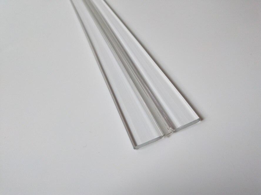 Ha Tai Plastic 1 M Long Hinge Acrylic Hinge Organic Hinge PVC Transparent Hinge