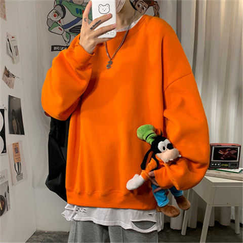 H4249a7dddf7e48cebef9b9edd1e97205s loose Korean style plus size sweatshirt winter clothes streetwear women 2020 new fashion plus velvet oversize harajuku hoodie