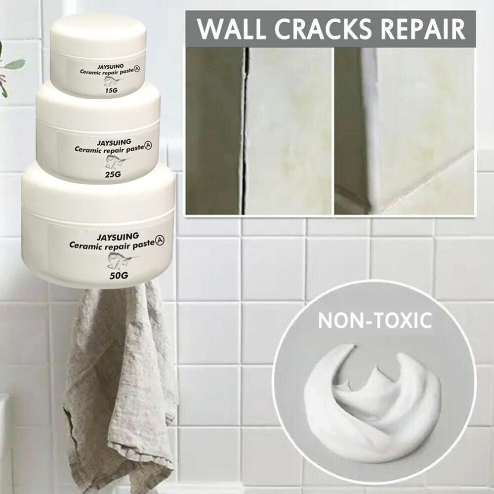US $8.88 8% OFF8PC Paint repair wax Ceramic repair paste Tub Toilet  Porcelain scratch dent defect no unpleasant smell waterproof  washableSilicone