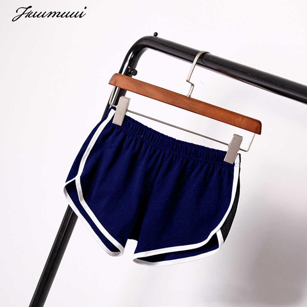 Fuumuui Effen Zomer Shorts Vrouwen Casual Sport Gym Shorts Elastische Hoge Taille Vrouwelijke Fitness Running Workout Skinny Trunks S-XL