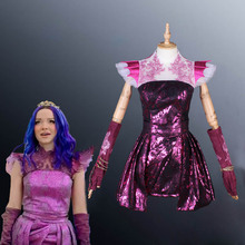 Shining New Year Dress Descendants 3 Mal Cosplay Costume Sex