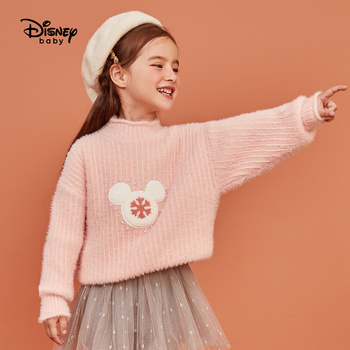 Disney Children's Clothing Children's Plush Sweater Sweater Girls Fashion Sweater Baby Sweater Kids Sweaters Baby Girl Sweater фото