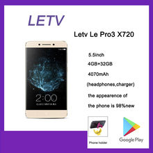 98% nuovo originale Letv Le Pro 3 X720 Snapdragon821 Quad Core 16MP 4070mAh 5.5 pollici cellulare 4G RAM 32G ROM usato