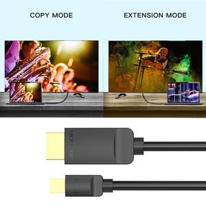 Vention Mini Displayport-HDMI кабель 4K Thunderbolt HDMI конвертер для MacBook Air 13 iMac Chromebook мини адаптер DP к HDMI