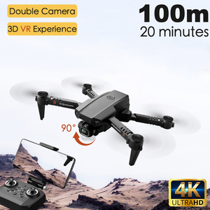 2020 New XT6 Drone dual lens 4k high definition aerial photography optical flow fixed height RC aircraft child Toys