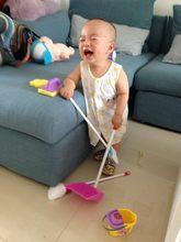 Детская Очищающая игрушки игровой набор «Дом» для подметания