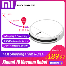 XIAOMI MIJIA Mi Sweeping Mopping Robot Vacuum Cleaner 1C for Home Auto Dust Sterilize
