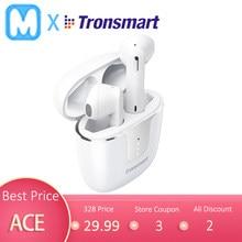 Tronsmart-auriculares inalámbricos Onyx Ace con Bluetooth 5,0, dispositivo de audio TWS, con Chip Qualcomm, aptX, cancelación de ruido, 4 micrófonos