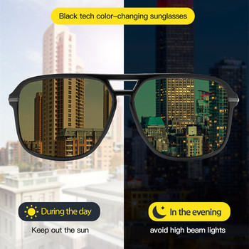 Vision Nocturna Women Night Vision Glasses Polarized Men Anti-Glare Lens Yellow Sunglasses Driving Night Vision Goggles For Car leepee polarized sun glasses anti uva uvb driver goggles clip on sunglasses interior accessories driving night vision lens