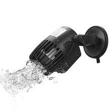 New 3/10/15w flow pump surf pump Ultra-Quiet 220V Wave maker Aquarium Fish Tank oxygenated water circulating Wave Water Pump super quiet aquarium oxygenated air pump for fish tortoise light grey 70cm cable