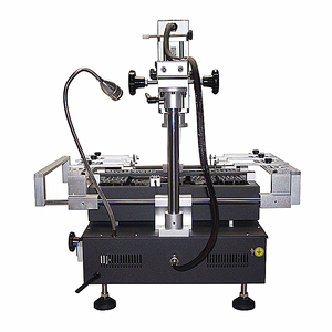 Image 2 - Honton bga rework machine HT R490 Rework soldering Station with independent temperature control and solder tools
