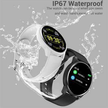 LIGE 2021 New Smart Watch Women Full Touch Screen Sport Fitness Watch IP67 Waterproof Bluetooth For Android ios smart watch Men 6