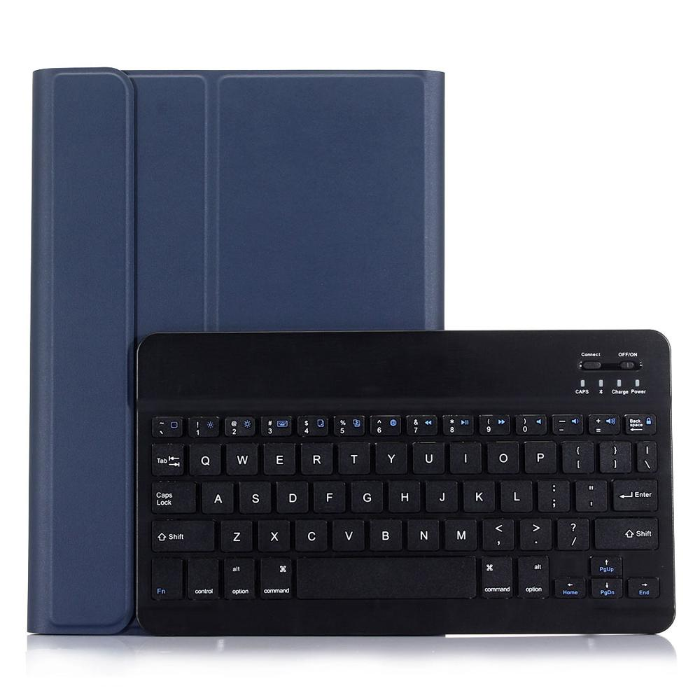 Blue with Black Blue 3 0 Bluetooth Keyboard Case for iPad 10 2 Case for Apple iPad 7th Generation A2200