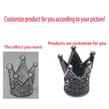 Jewelry and Accessories Custom Style Shape Color Personality Stainless Steel Copper Alloy Wholesale Lot