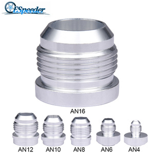 ESPEEDER AN10 AN 10 Male Aluminum Weld On Fitting Round Base(China)