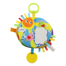 Baby Toys Books Cloth Education-Toys Hanging Sand-Color Early-Childhood 12 0 24-Months