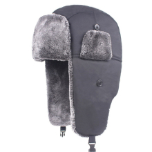 Unisex Warm Waterproof Trapper Hat Simple Ear Flap Caps Hat