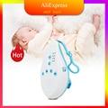 Детский шумоподавляющий аппарат для сна, устройство для прослушивания звука, звукозапись, голосовой сенсор с 8 успокаивающими звуками, тайм...