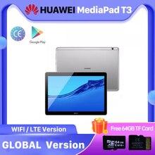 Глобальная версия Huawei MediaPad T3 2 Гб оперативной памяти, 32 Гб встроенной памяти, прочный легкий планшетный ПК SnapDragon 425 Восьмиядерный 9,6 дюймов ...