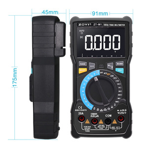 Image 4 - ZOYI ZT M1 ZT M0 Dual mode true RMS digital multimeter AC and DC voltage current temperature frequency better than ZT X RM409B