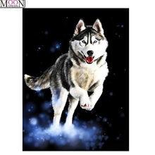 Алмазная 5d картина «сделай сам» с изображением животных волков