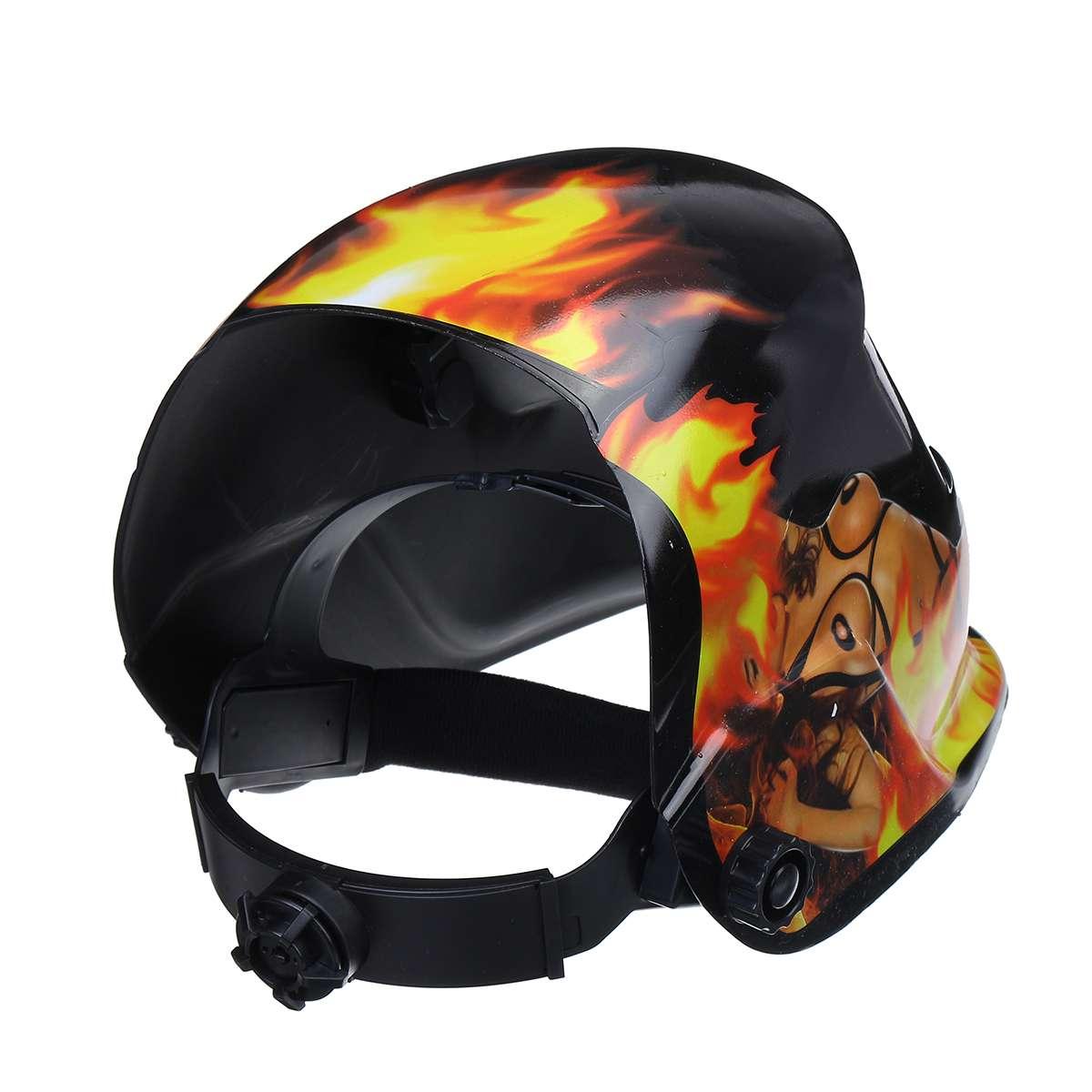mig mma máscara de soldagem elétrica capacete