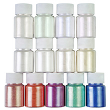 13Colors Shimmer Easy Apply Natural Epoxy Resin Dye Mica Powder Pearl Pigment