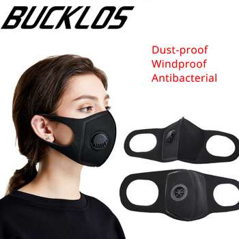 10pcs Activated Carbon Filter Cycling Face Mask PM2.5 Washed Reusable Dust Anti Mouth Masks Outdoor Sport Breathing Valve Masks