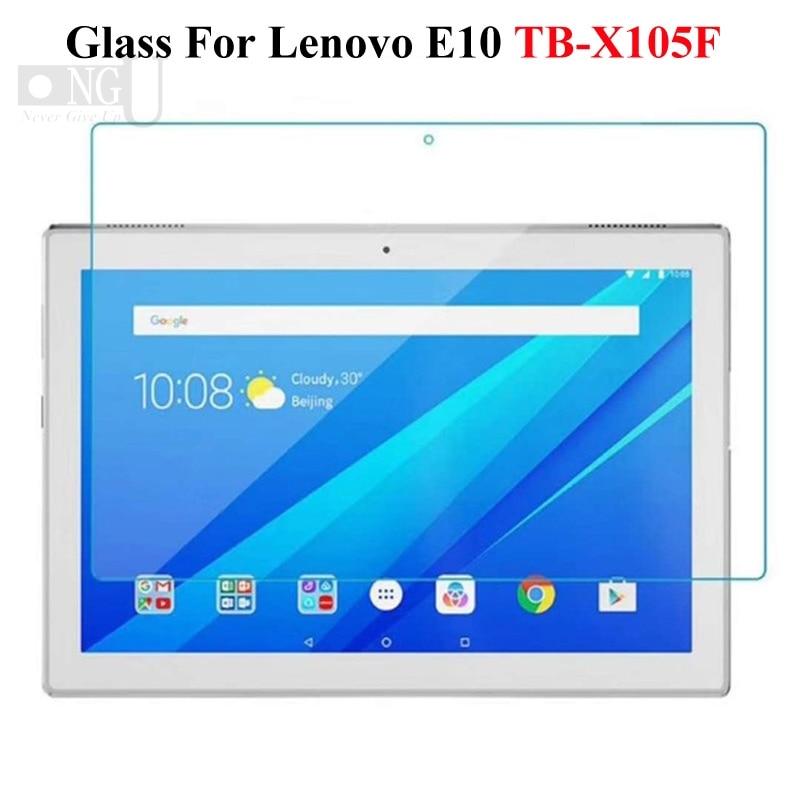 Tempered Glass For Lenovo Tab E7 TB-7104F 7104 7.0 Screen Protector For Lenovo Tab E10 TB-X104F 10.1 Protective Glass Tablet PC