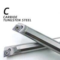 BB SCLCR SCKCR tornio barra di alesatura S10K S12M tornitura interna CCMT HSS C08K portautensili in acciaio legato al carburo