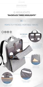 Image 5 - カイカップルのバックパックミニマリズム高品質ラップトップビジネス旅行男性女性2020ファッションバッグ防水男性スクールスタイル