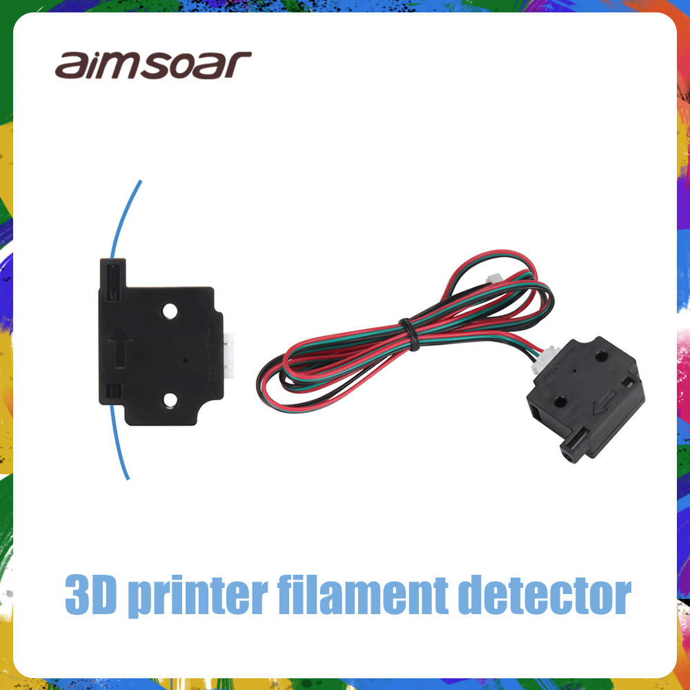 3D Printer Filament Break Detection Module With 1M Cable Run-out Sensor Material Runout Detector For 3D Printer Parts