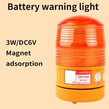 Formosa пластмассы LTD-5088 дорожное заграждение светодиодный стробоскоп предупреждающий сигнал свет сухой батареи предупреждающий свет Магнитный фиксированный