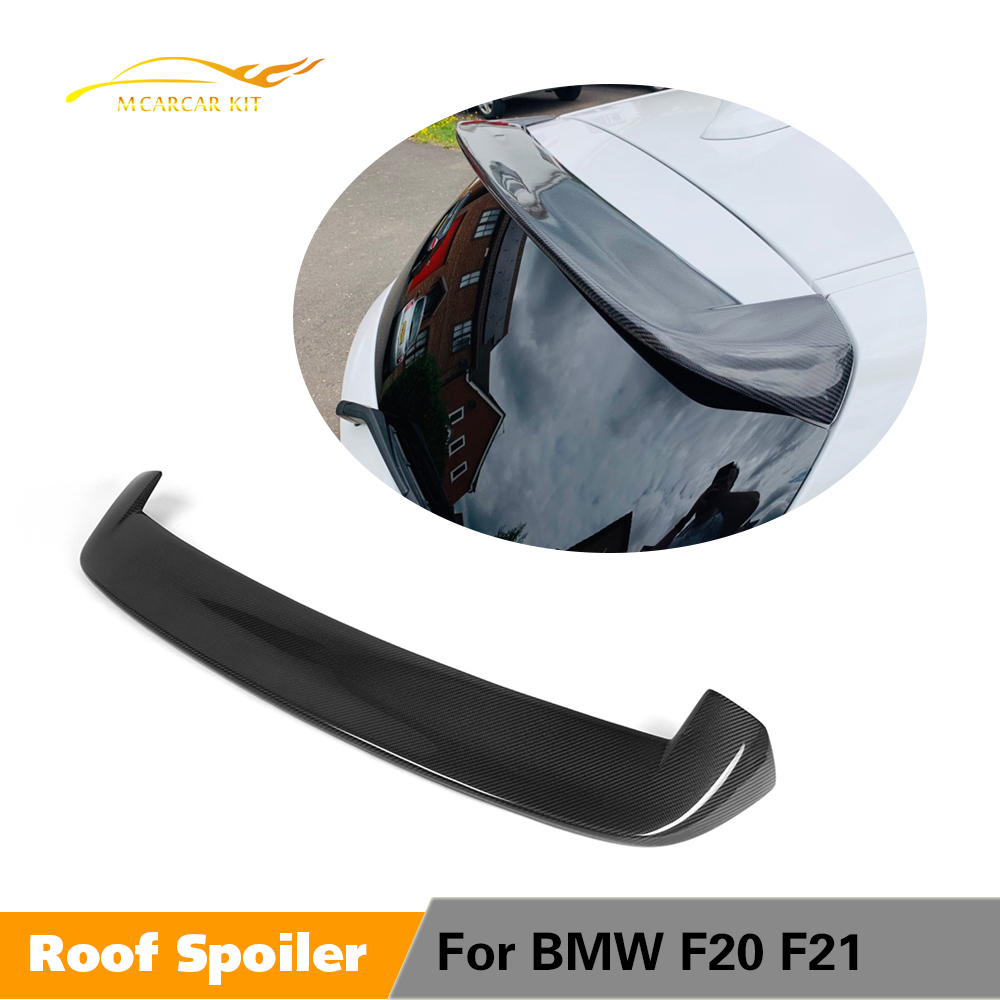 Rear Roof Spoiler Window Wing Lip for BMW F20 F21 2012 - 2018 118i 120i M135i M140i Spoiler Carbon Fiber / FRP Rear Spoiler image