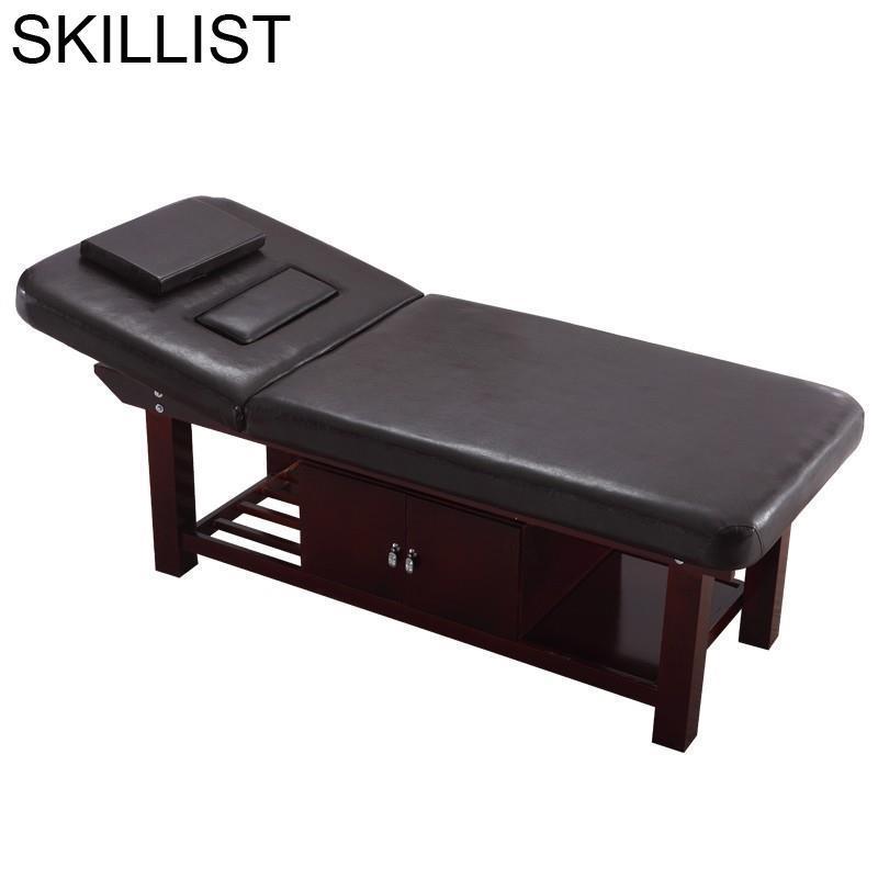 Masaj Koltugu Cama Para Lettino Massaggio Salon Furniture Foldable Camilla Masaje Plegable Chair Table Folding Massage Bed