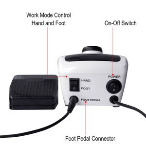 Image 4 - 32W 35000RPM Pro Electric Nail Drill Machine Apparatus for Manicure Pedicure Files with Cutter Nail Art Drill Pen Machine Tools