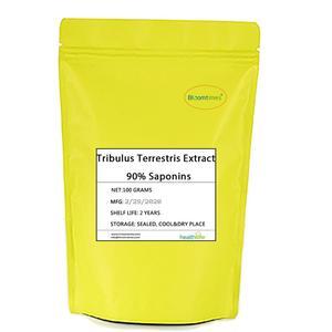 2020 Free Shipping Nature Tribulus Terrestris Extract Saponins 90% Powder 100g/bag Energe Improve