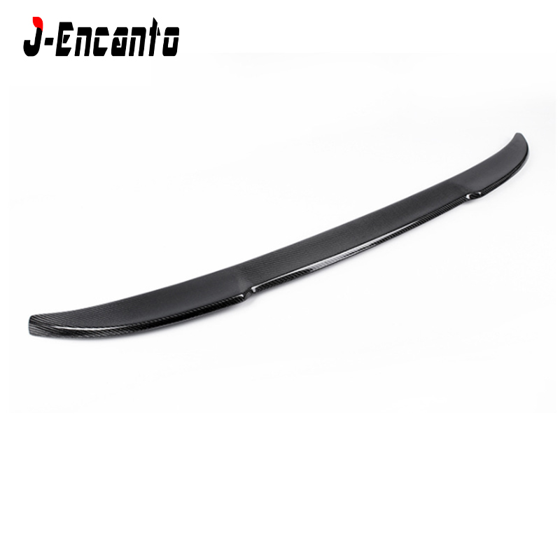 For BMW new X4 G02 CS style 2018 Spoiler Carbon Fiber MaterialCarbon wings Punch free