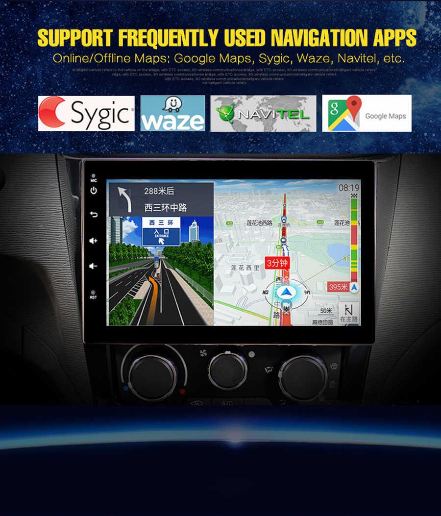 "Wifi Netwerk 9 ""Touch Screen Auto Gps Voor 2015 Mq Triton Android 9.1 Auto Radio Voor Mitsubishi Triton Navigatie systeem Multimedia"
