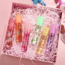 Lip Hydrating 6 kolorów Roll-on Fruit balsam do ust balsam do ust nawilżający lustro błyszczyk przezroczysta szminka podkład TSLM1 tanie tanio CN (pochodzenie) Krem nawilżający Pożywne CHINA 1 Piece W pełnym rozmiarze
